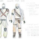 Suunnittelu ja puvustus: Scandinavian Hunks luonnos