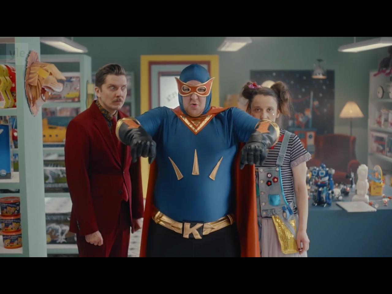 Teatteri- TV- ja Elokuvatuotannot - Lelumesta: Supersankari