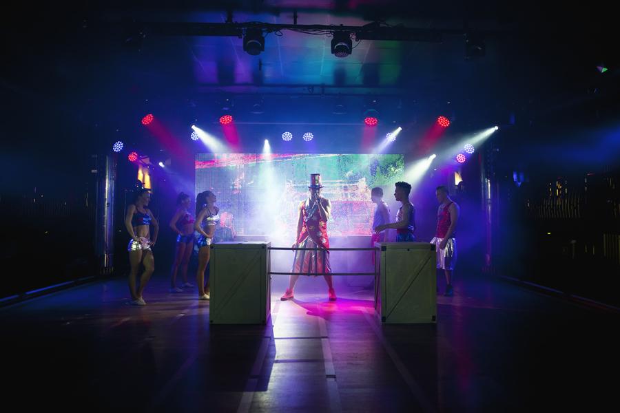 Esiintymisasut - Retro Party