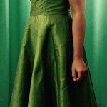Ateljee ja teettäminen: Vihreä hääpuku